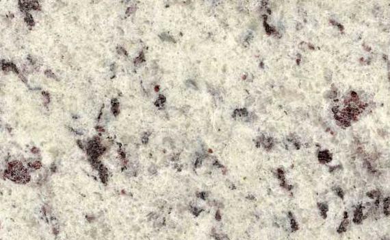 Dallas White Granite : Granite color