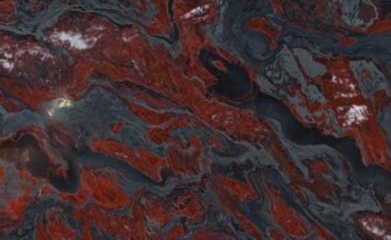 Red And Black Granite : Granite color
