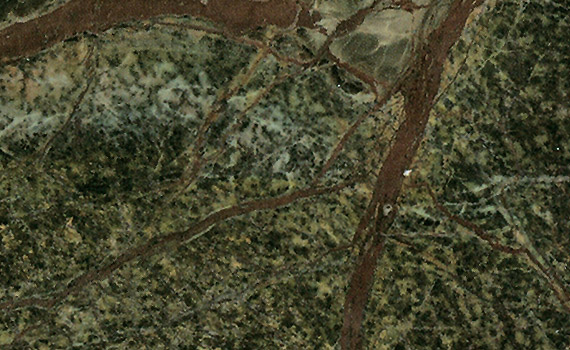 Rain Forest Green Marble : Granite color